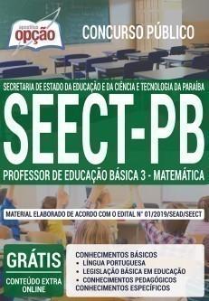 PROFESSOR DE EDUCAÇÃO BÁSICA 3 - MATEMÁTICA