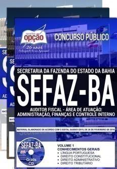 AUDITOR FISCAL - ADMINISTRAÇÃO, FINANÇAS E CONTROLE INTERNO