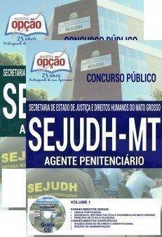 APOSTILA AGENTE PENITENCIÁRIO SEJUDH/MT