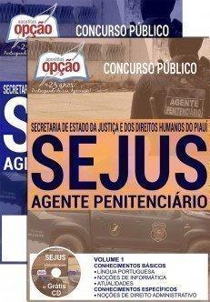 Apostila Concurso SEJUS do Piauí Agente Penitenciário 2016