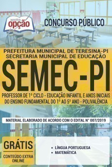PROFESSOR DE 1º CICLO
