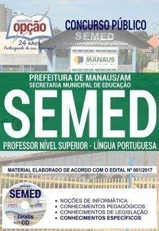 PROFESSOR NÍVEL SUPERIOR - LÍNGUA PORTUGUESA