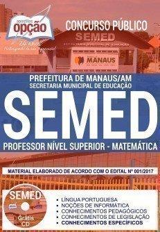 PROFESSOR NÍVEL SUPERIOR - MATEMÁTICA