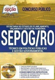 TÉCNICO EM POLÍTICAS PÚBLICAS E GESTÃO GOVERNAMENTAL