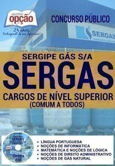 Apostila SERGAS Sergipe Gás S/A (2016) Assistente Organizacional
