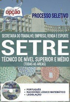 TÉCNICO DE NÍVEL SUPERIOR E MÉDIO (TODAS AS ÁREAS)