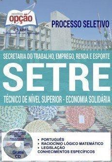 TÉCNICO DE NÍVEL SUPERIOR - ECONOMIA SOLIDÁRIA