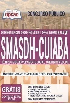 TÉCNICO EM DESENVOLVIMENTO SOCIAL: ORIENTADOR SOCIAL