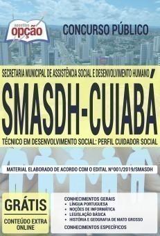TÉCNICO EM DESENVOLVIMENTO SOCIAL: PERFIL CUIDADOR SOCIAL
