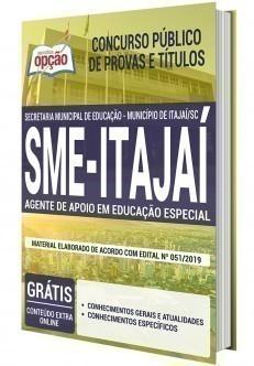 AGENTE DE APOIO EM EDUCAÇÃO ESPECIAL