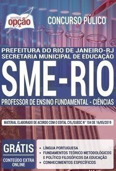 PROFESSOR DE ENSINO FUNDAMENTAL - CIÊNCIAS
