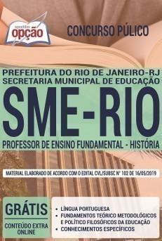 PROFESSOR DE ENSINO FUNDAMENTAL - HISTÓRIA