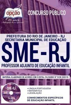 PROFESSOR ADJUNTO DE EDUCAÇÃO INFANTIL