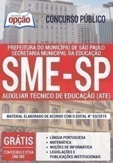 AUXILIAR TÉCNICO DE EDUCAÇÃO (ATE)