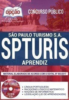 Apostila Concurso SPTURIS 2018 | APRENDIZ
