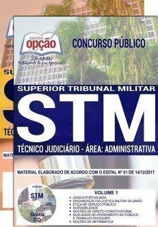 Apostila Concurso STM 2018 | TÉCNICO JUDICIÁRIO – ÁREA: ADMINISTRATIVA