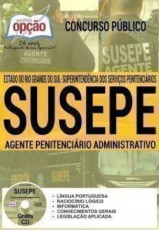 Apostila Susepe 2017 Agente Penitenciário Administrativo