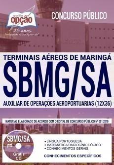 AUXILIAR DE OPERAÇÕES AEROPORTUÁRIAS (12X36)