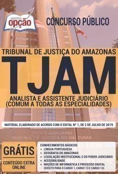 ANALISTA E ASSISTENTE JUDICIÁRIO (COMUM A TODAS AS ESPECIALIDADES)