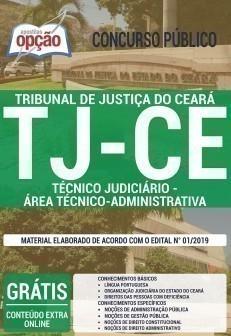 TÉCNICO JUDICIÁRIO - ÁREA TÉCNICO - ADMINISTRATIVA