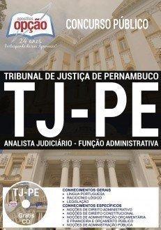 ANALISTA JUDICIÁRIO - FUNÇÃO ADMINISTRATIVA