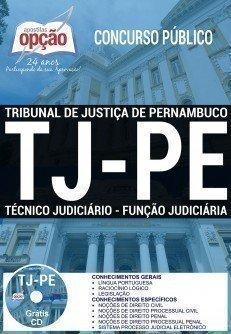 TÉCNICO JUDICIÁRIO - FUNÇÃO JUDICIÁRIA