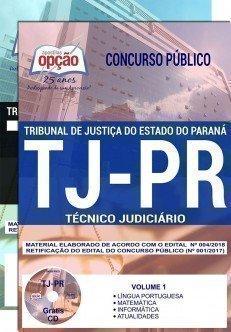 Apostila TJ-PR Técnico Judiciário 2018