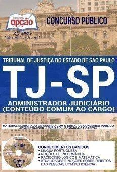 ADMINISTRADOR JUDICIÁRIO (CONTEÚDO COMUM AO CARGO)