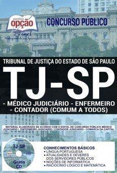MÉDICO JUDICIÁRIO, ENFERMEIRO E CONTADOR (CONTEÚDO COMUM A TODOS OS CARGOS)