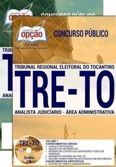 Apostila Concurso TRE TO 2017 - ANALISTA JUDICIÁRIO - ÁREA: ADMINISTRATIVA