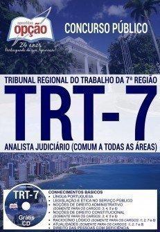 Apostila Concurso TRT 7ª Região 2017 | ANALISTA JUDICIÁRIO (COMUM A TODAS AS ÁREAS)
