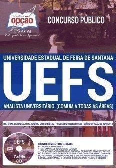 ANALISTA UNIVERSITÁRIO (COMUM A TODAS AS ÁREAS)