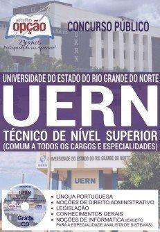 Apostila UERN 2016 pdf Agente Técnico Administrativo