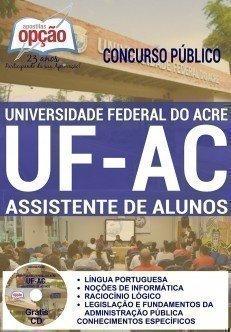 Apostila UFAC ASSISTENTE DE ALUNOS 2016