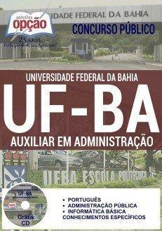 Apostila UFBA concurso Universidade Federal da Bahia - AUXILIAR EM ADMINISTRAÇÃO