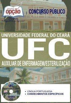 apostila Concurso UFC ce 2016 AUXILIAR DE ENFERMAGEM / ESTERILIZAÇÃO