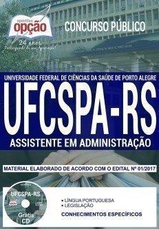 Apostila Concurso UFCSPA 2018 | ASSISTENTE EM ADMINISTRAÇÃO