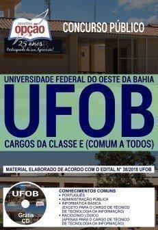 CARGOS DA CLASSE E (CONTEÚDO COMUM A TODOS OS CARGOS)