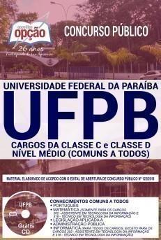 CARGOS DA CLASSE C e CLASSE D - NÍVEL MÉDIO (COMUNS A TODOS)