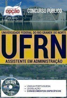 Apostila Instituto Federal do Rio Grande do Norte - IFRN - Assistente em Administração.