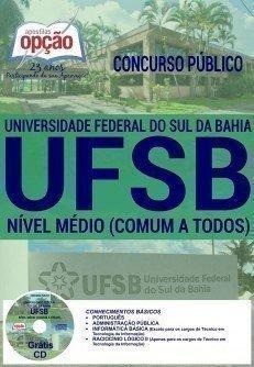 Apostila UFSB concurso 2016 Sul da Bahia - COMUM A TODOS OS CARGOS
