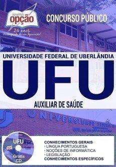 Apostila Concurso UFU 2017 | AUXILIAR DE SAÚDE