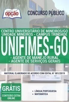AGENTE DE MANEJO RURAL E AGENTE DE SERVIÇOS GERAIS