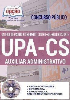 Apostilas Concurso UPA-CS Belo Horizonte 2016, AUXILIAR ADMINISTRATIVO