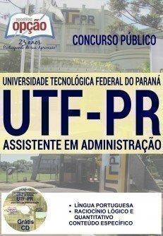Apostila UTFPR ASSISTENTE EM ADMINISTRAÇÃO