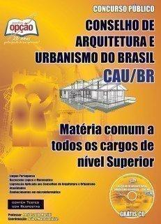 Apostila Comum A Todos Os Cargos - Superior - Concurso Conselho De Arquitetura E...