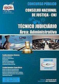 Apostila Técnico Judiciário - área Administrativa - Concurso Conselho Naciona...