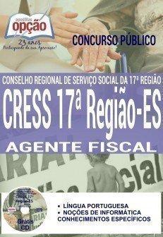 Apostila Concurso Cress17 Agente Fiscal.