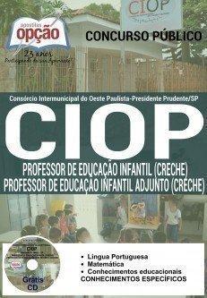 PROFESSOR DE EDUCAÇÃO INFANTIL E ADJUNTO (CRECHE)
