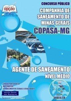 Apostila Agente De Saneamento - Concurso Copasa / MG
